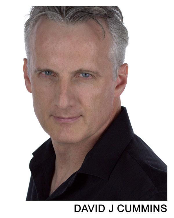 David J Cummins Commercial headshot