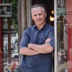 David J Cummins Brooklyn Cafe Owner