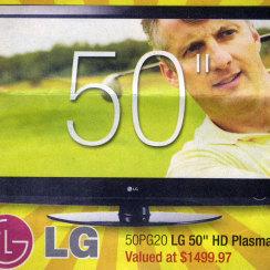 David J Cummins LG TV Print Ad