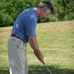 David J Cummins Golfing 7 Iron