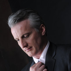 David J Cummins Polished Suit & Tie