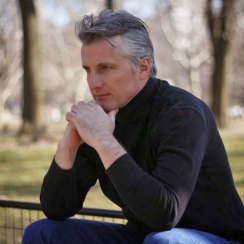 David J Cummins Central Park Pensive